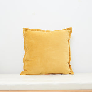 Boho Luxe Velvet Cushion with French Seam - 50 x 50 / وسادة