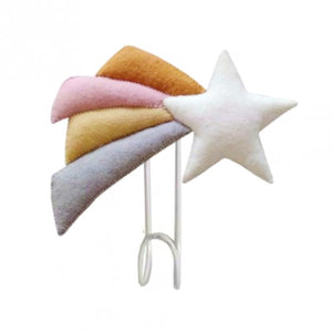 Pastel Shooting Star Hook by Fiona Walker