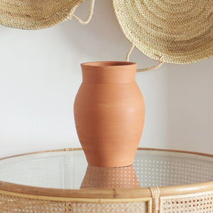 Earth Collection - Farah Vessel, Trerracotta / سيراميك