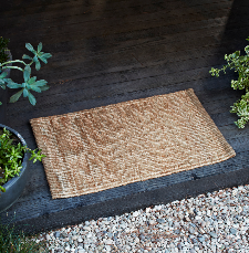 Armadillo&Co. - Nest Weave Entrance Mat - Natural - 0.5x1.4m / سجادة