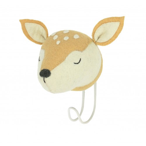 Sleepy Deer Hook by Fiona Walker