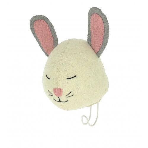 Sleepy Bunny Hook by Fiona Walker