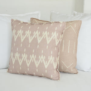 Solstice Cushions - Blush