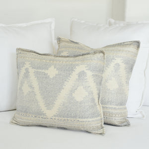 Solstice Cushions - Powder Blue