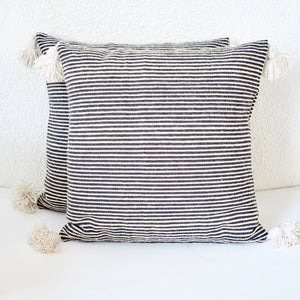 Cinnamon Thin Stripe Cushion