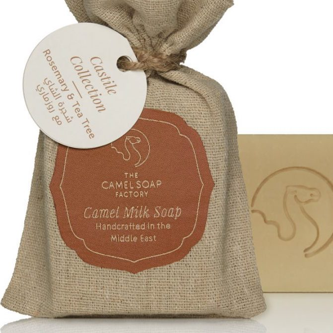 Natural Camel Milk Castile Collection - Rosemary & Tea Tree Soap