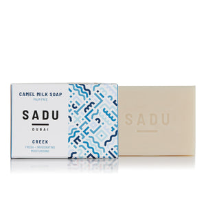Natural Camel Milk Soap, Sadu Collection - Creek