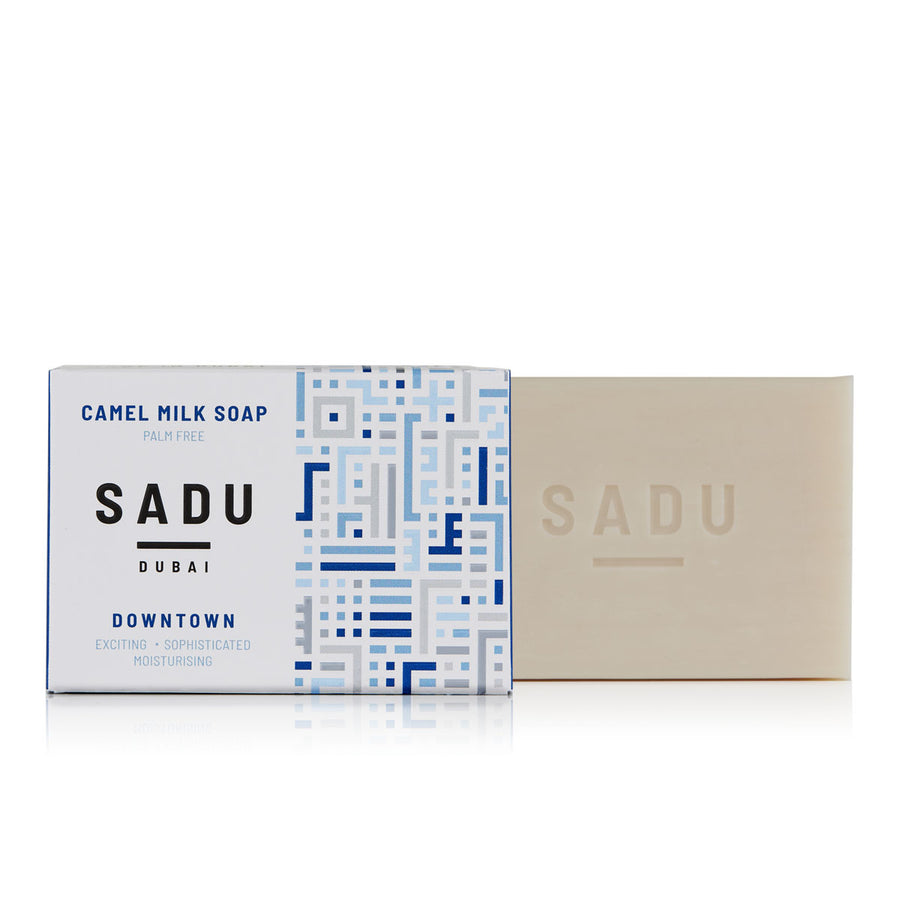 Natural Camel Milk Soap, Sadu Collection - Downtown