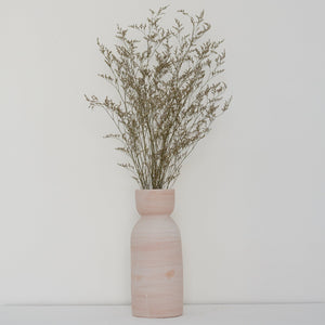 Earth Collection - Ini Vase, White Washed /سيراميك