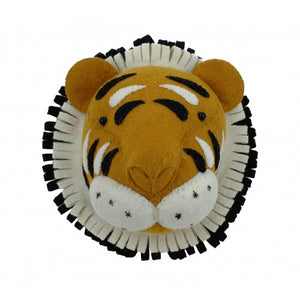 Mini Tiger Head by Fiona Walker