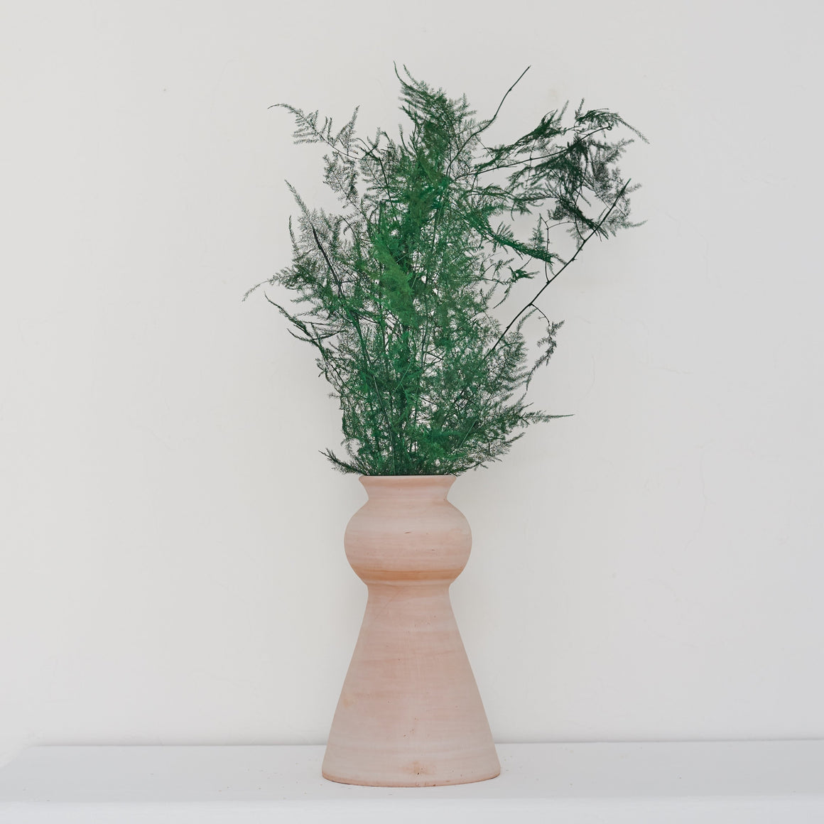 Earth Collection - Uma Vase, White Washed /سيراميك