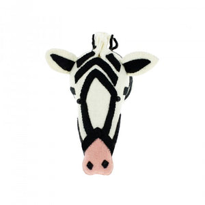 Semi Zebra with Pink Nose by Fiona Walker