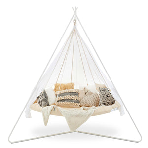 Tiipii Hanging Nester White 1.8m with Stand