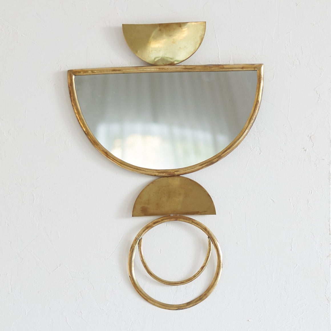 Brass Eclipse Mirror / مرآة