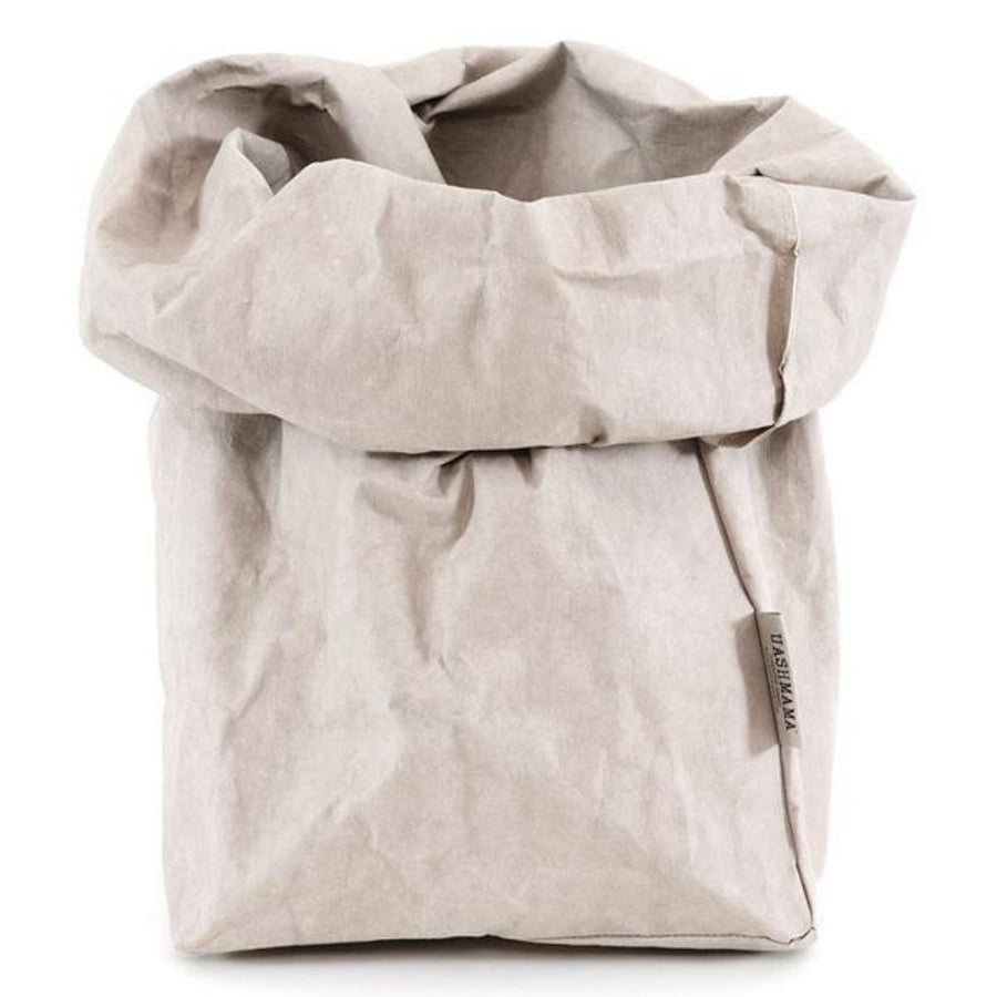 Paper Bag in Grey by Uashmama
