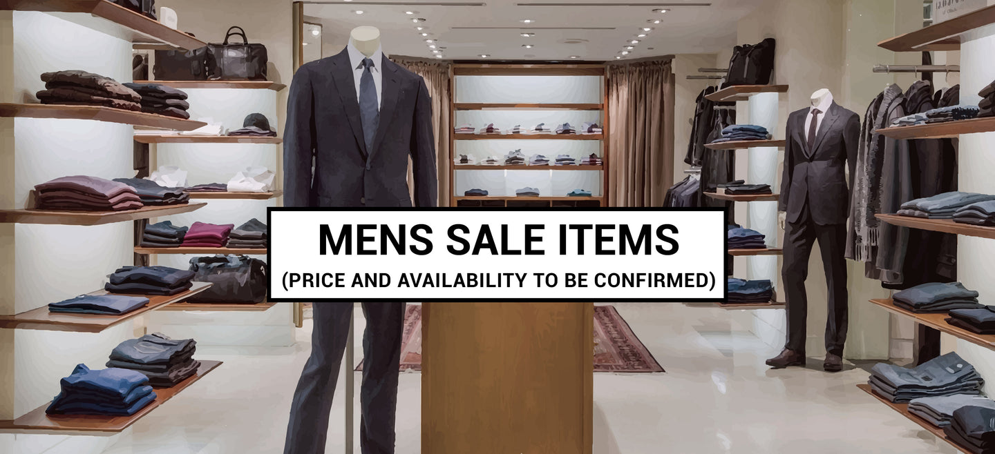 Mens fashion - sale catalog