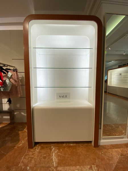 #46 >  Display Case w/ Glass Shelving and Lighting (Small) [SOLD OUT]