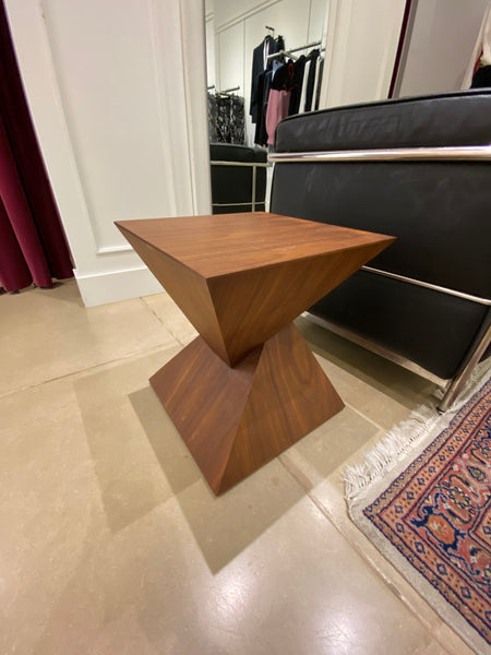 "#19 > Wooden ""Modern"" Side Table [SOLD OUT]"