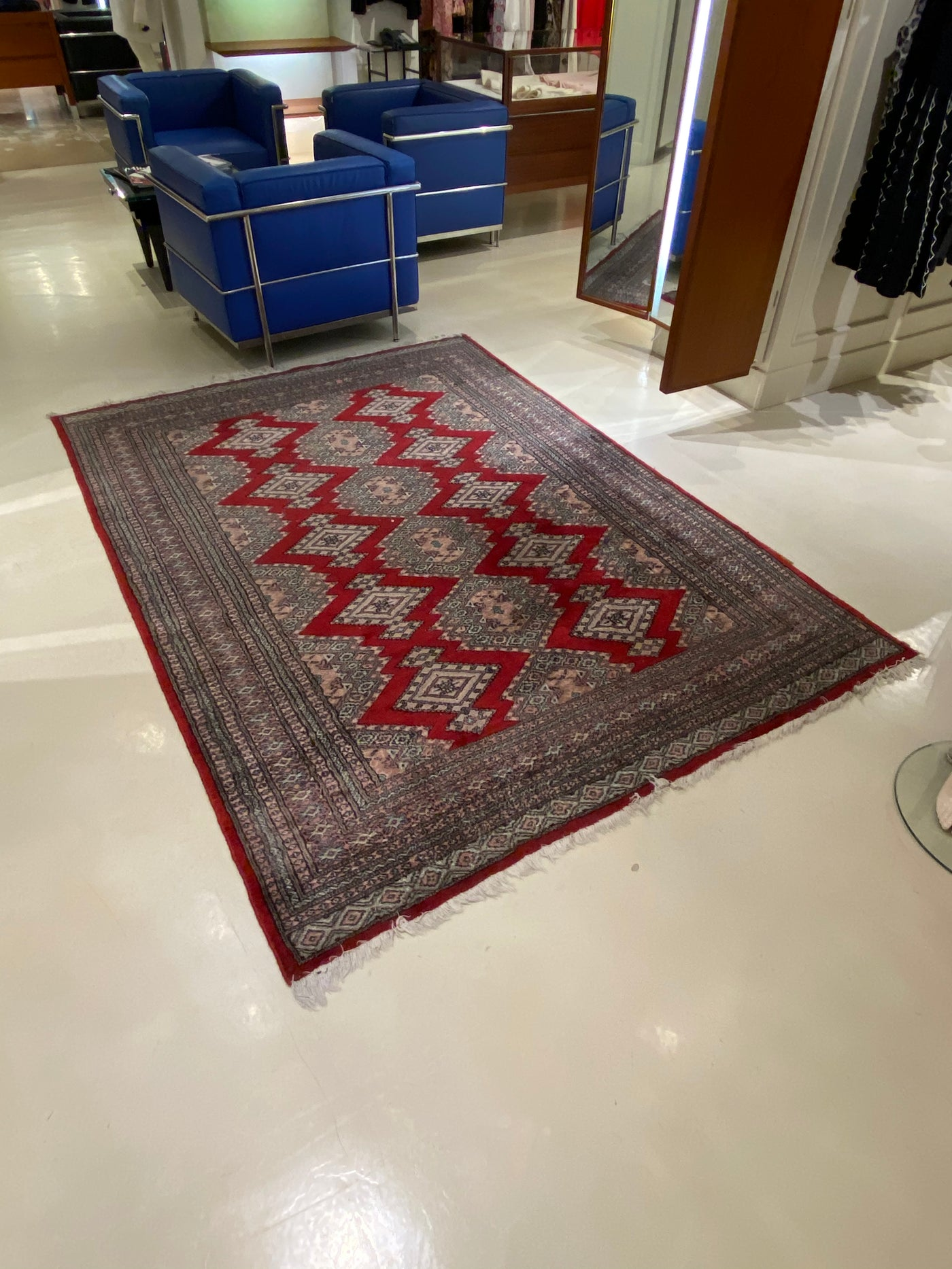 #49 >  Persian Rug (In Women's Section)