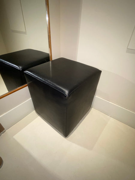 "#12 > Leather ""Cube"" Seat [SOLD OUT]"