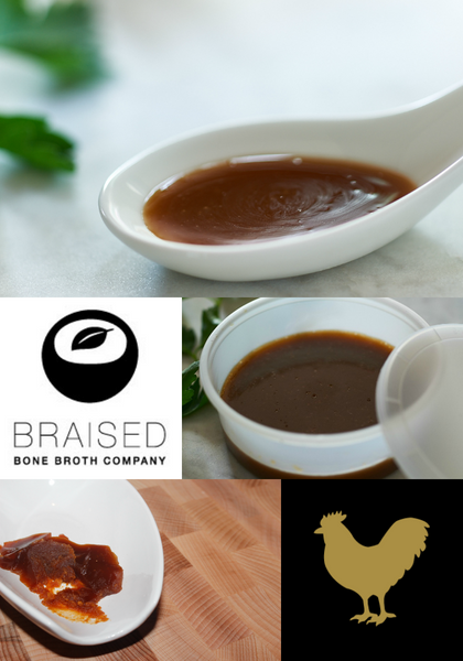 Bone Broth Concentrate (8 oz) - makes 72+ oz finished broth