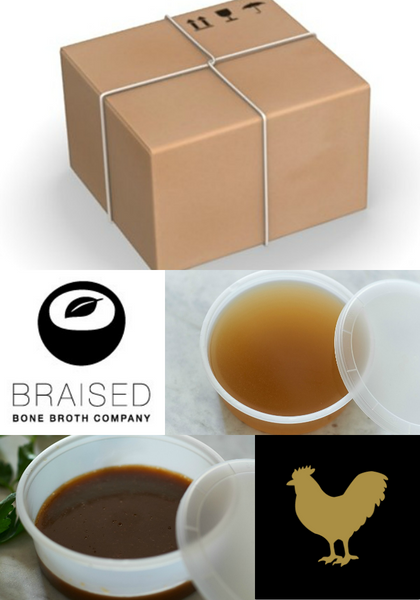 Broth Bundle / Cleanse for One (176 oz)