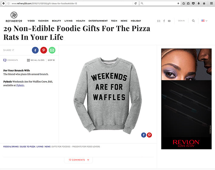 Refinery29 Christmas Gift Ideas for Food Lovers Pyknic