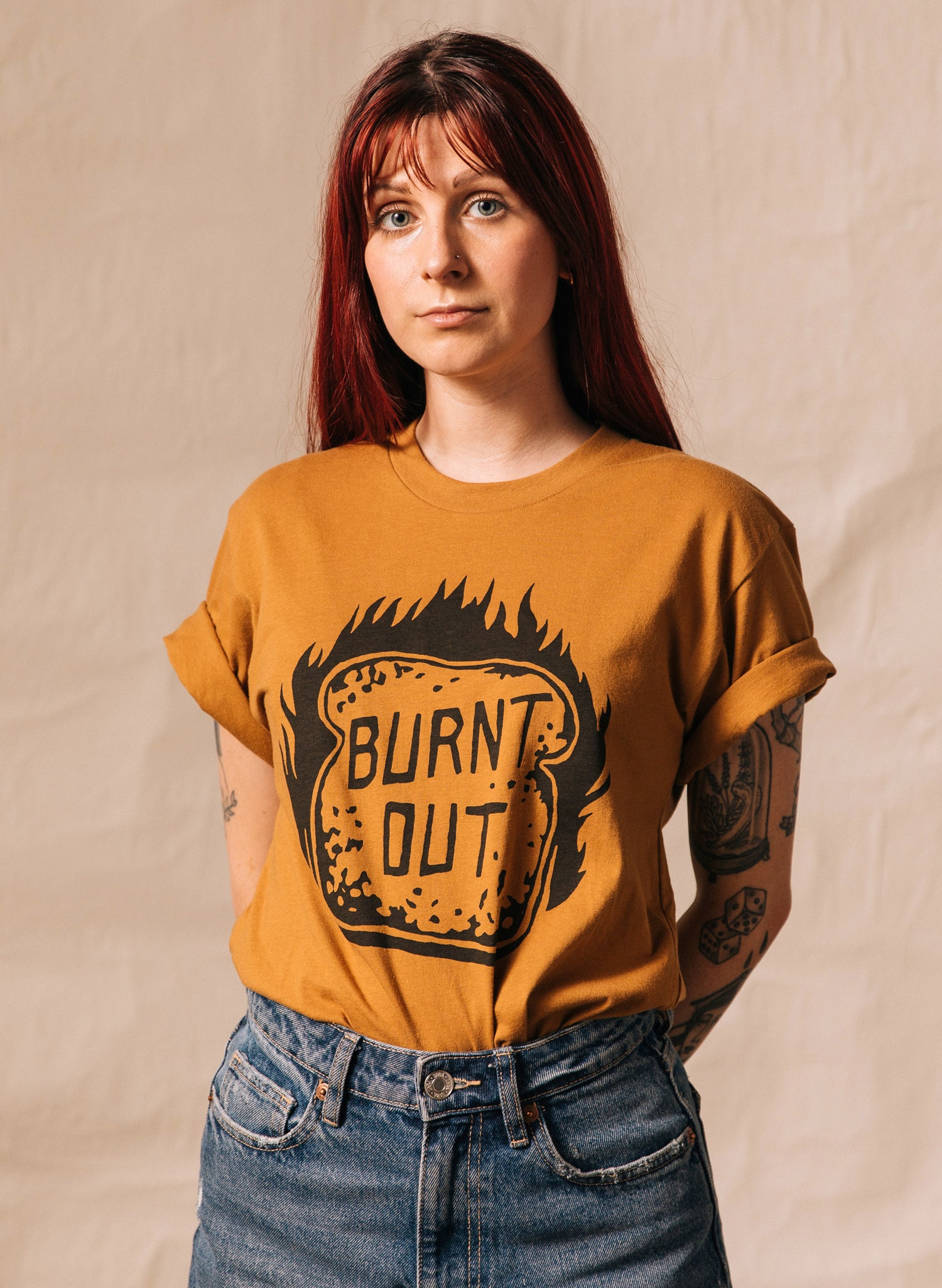 Burnt Out Tee