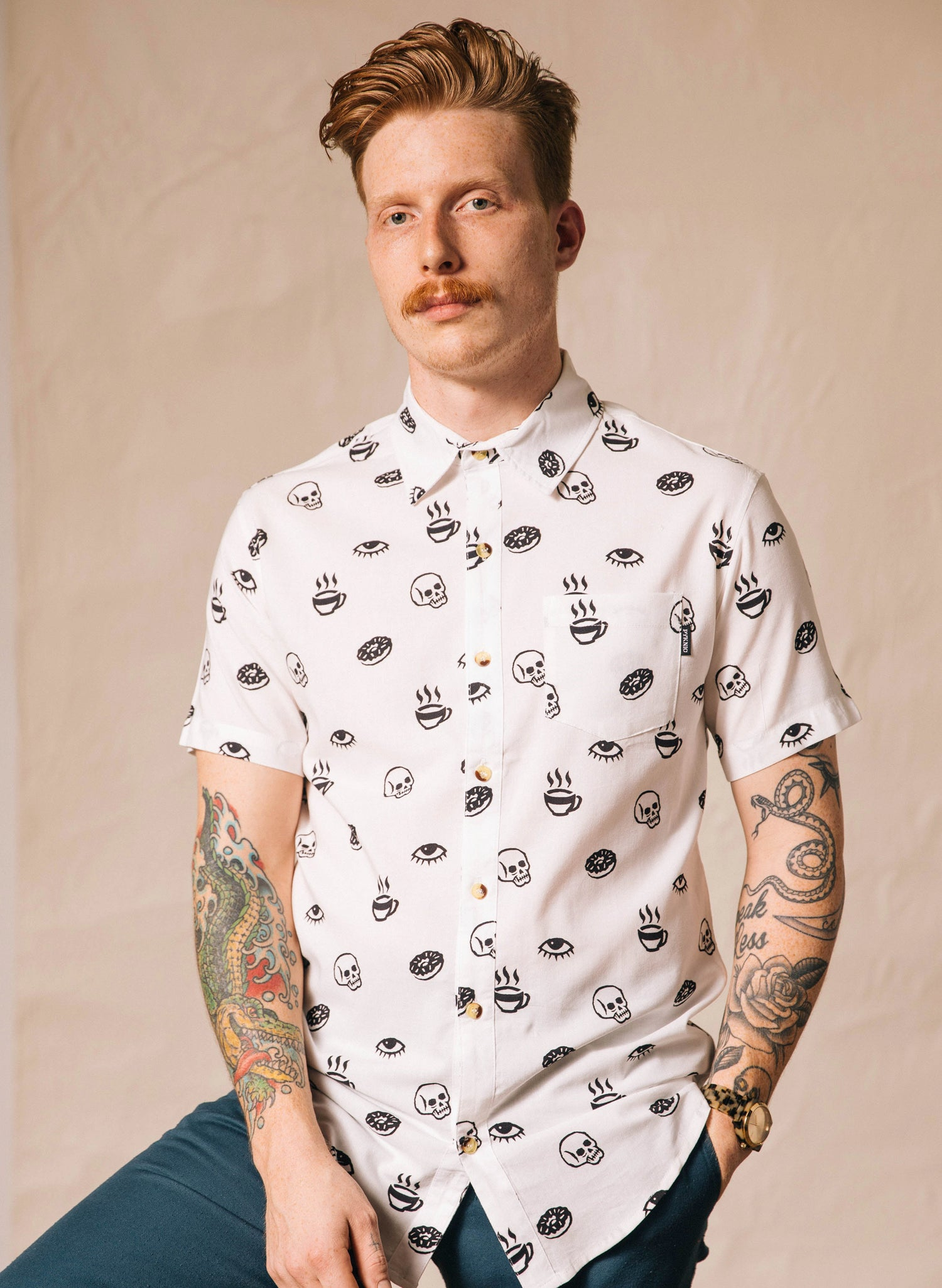 Morning Glory Button-Up