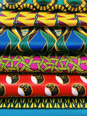 Kitenge fabric selected for packaging