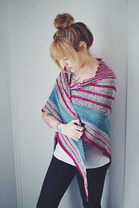 FunFunFun Shawl by Andrea Mowry - Stash-A Place For Yarn
