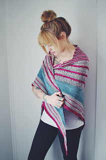 FunFunFun Shawl by Andrea Mowry