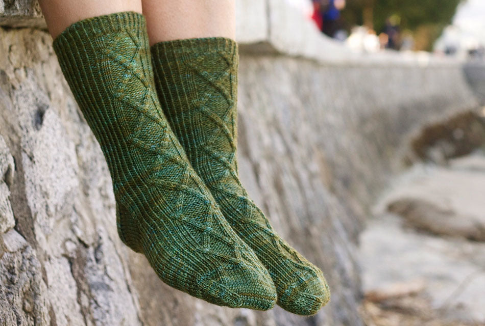 Sea Wall Socks - Stash-A Place For Yarn
