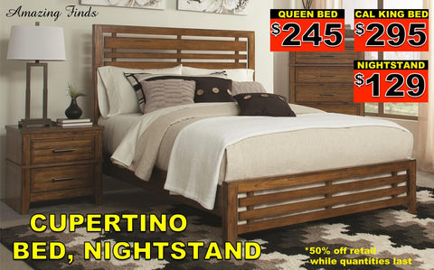 Cupertino bed NEW 50% off