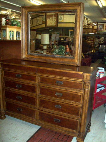Coaster Bedroom Furniture >> Today's Amazing Find: John Elway Bassett dresser with mirror 6242, $13 – Amazing Finds Red Bluff