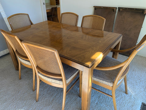 Dining table 6 chairs set 17571