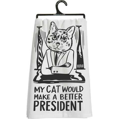 Cat would make a better president