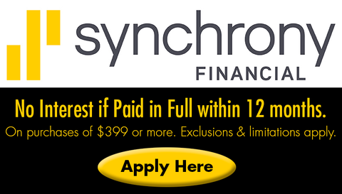 Synchrony Financing: No Interest if paid with 12 months
