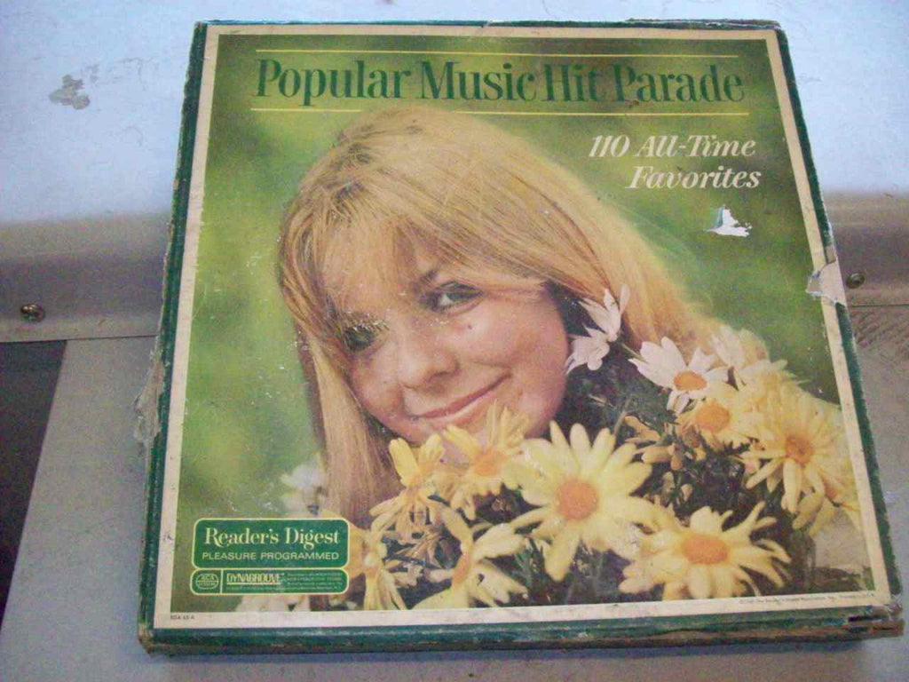 Popular Music hit parade record album set 7199