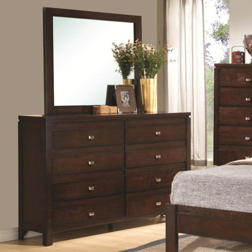 Cameron mirror rich brown CO-203494