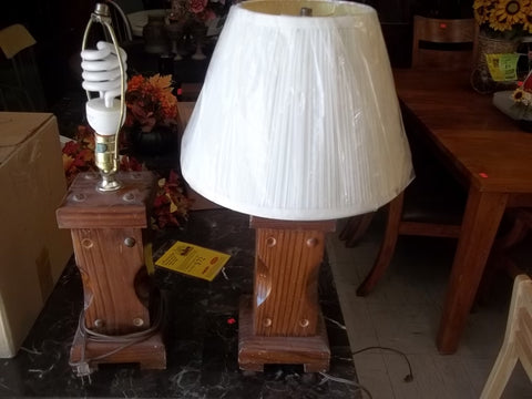 Wooden lamps 9628