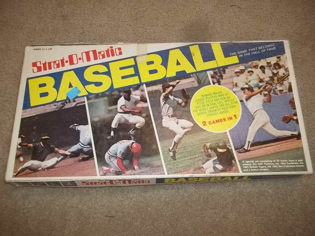 Baseball Strut O Matic board game 12073