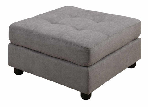 Claude ottoman dove grey NEW CO-551006