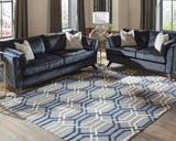 CLEARANCE SALE 50% OFF Geometric 100% wool area rug 5x8 NEW by Donny Osmond, Coaster CO-970198