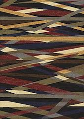 Area rug ary style multi color 5x7 NEW by Coaster CO-970231