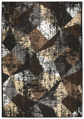 CLEARANCE SALE 50% OFF Area rug contemporary style multi tonal 8x10 NEW by Coaster CO-970227L
