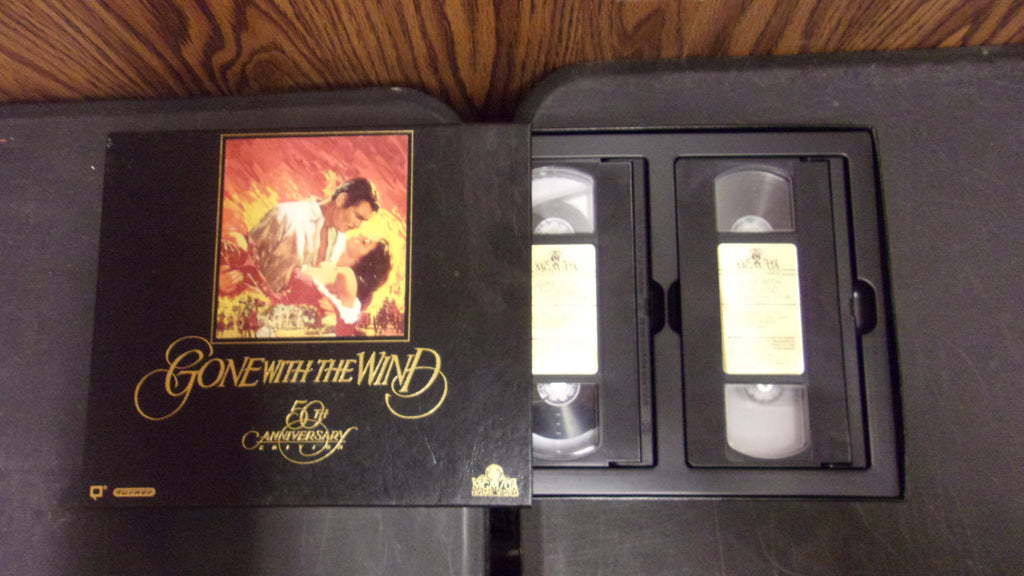 Gone With the Wind Original Factory Release 50th Anniversary Box Set VHS 13020 121