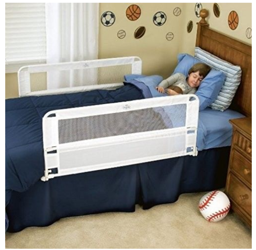 Regalo Hide Away Double Sided Bed RAIL, White 20087 121