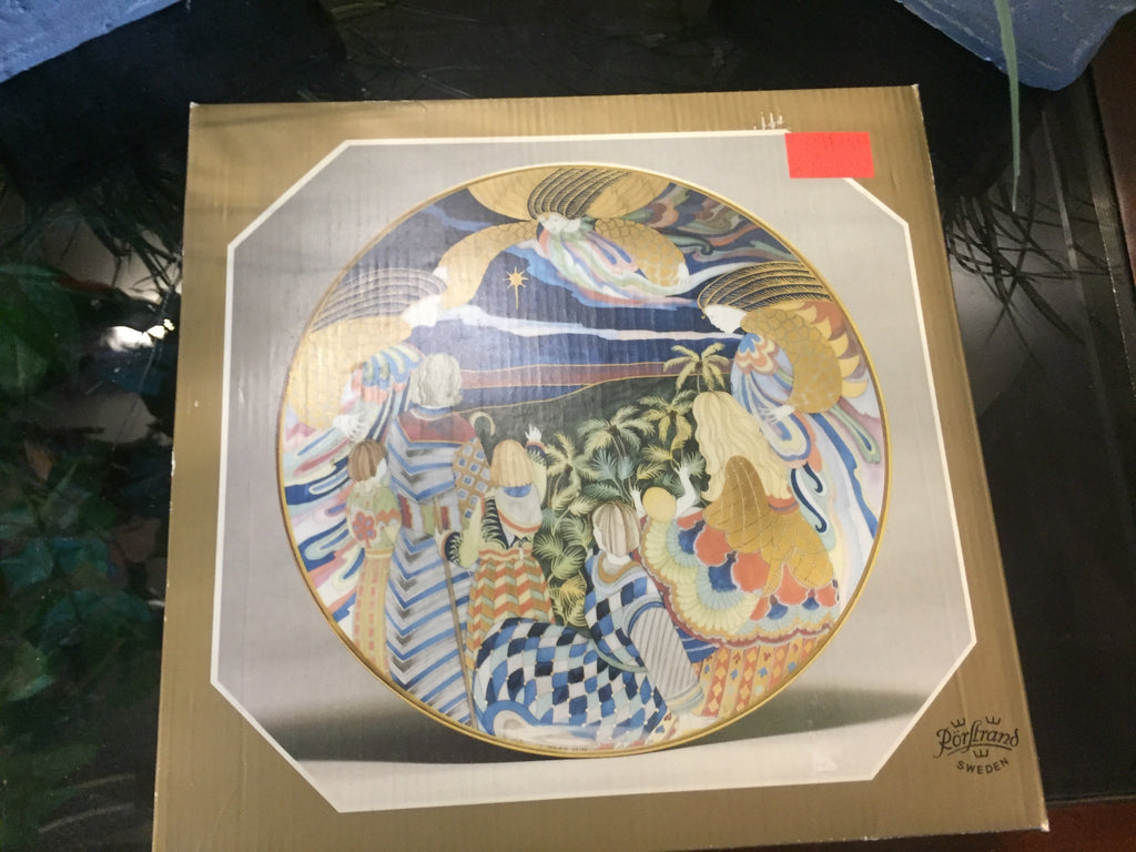 Glans Over Sjo Och. Strand. 1983 Collectors Plate Design: Jackie Lynd 20205 121