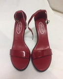 Callisto Of California Red Heels Womens SIze 7 Shoes 20292 121